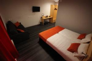 Confort room Aka Lodge Hotel Lyon